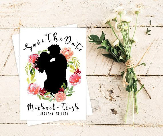 Save The Date Card. Wedding Printables. Wedding Card. Save The