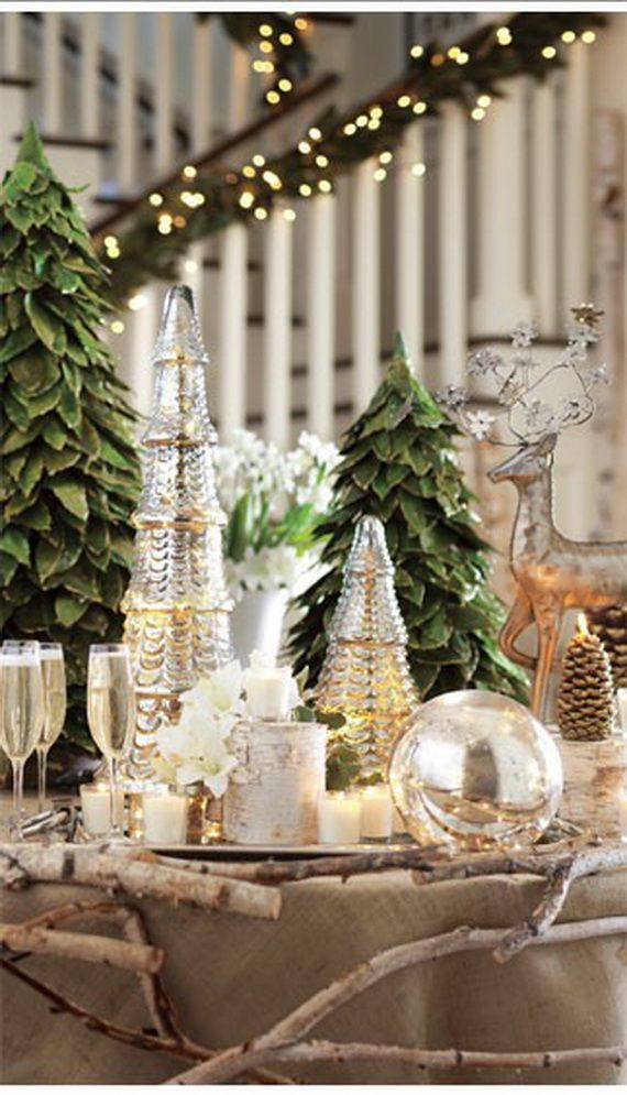 Glamorous And Affordable Mercury Glass Decor For Special Occasions _07