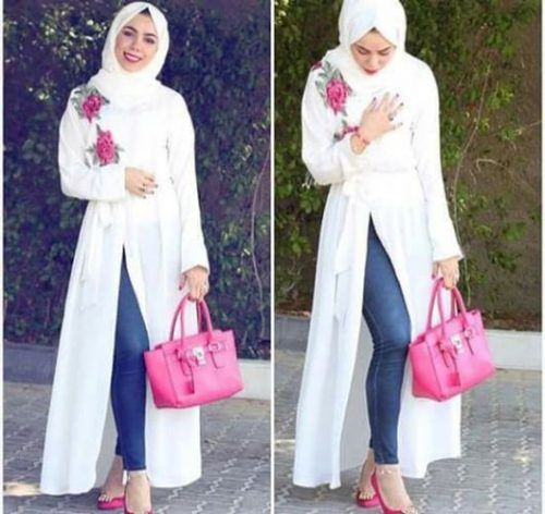 Casual and sporty hijab style – Just Trendy Girls