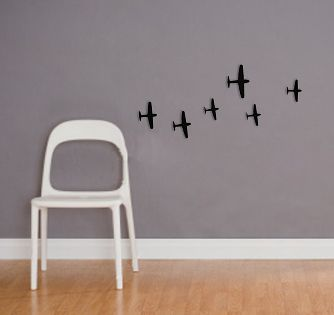 War planes decals