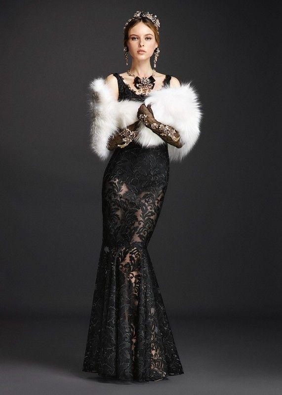 Вечерние платья Dolce & Gabbana весна-лето 2016: myfashion_diary