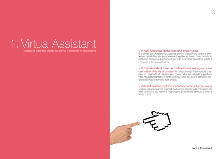 Depliant #Virtual Assistant