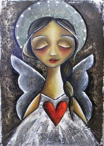"""""""Angel in prayer"""""""
