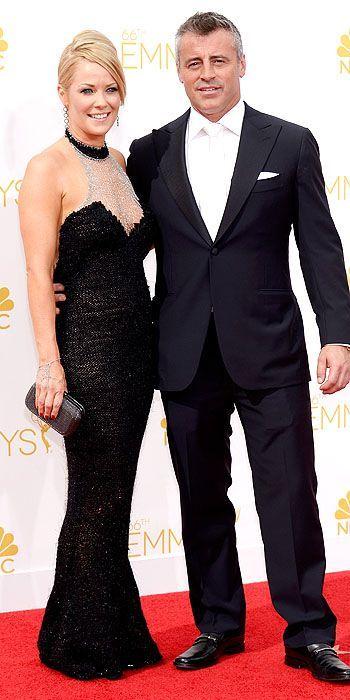 Emmy Awards 2014: Andrea Anders and Matt LeBlanc