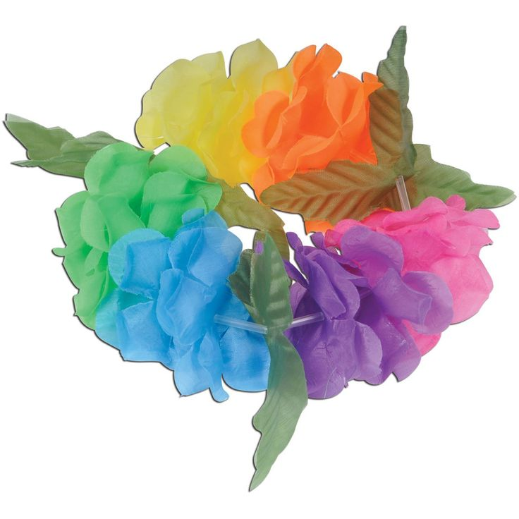 Silk 'N Petals Big Island Headband (multi-color) Party Accessory  (1 count) *** Check out this great product. (This is an Amazon affiliate link)