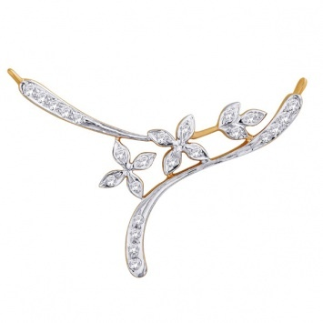flowers #diamond #gold #mangalsutra