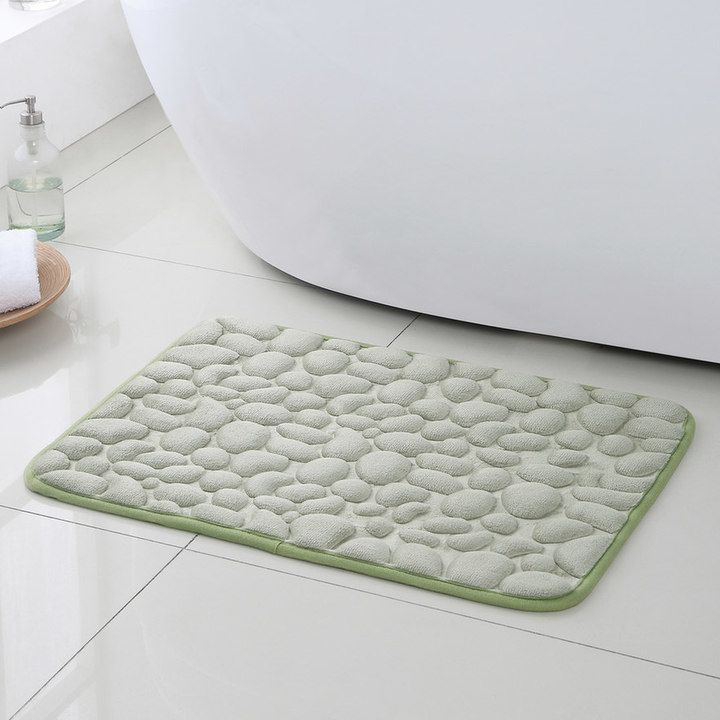 Vcny Pebbles 2-pc. Memory Foam Bath Rug Set