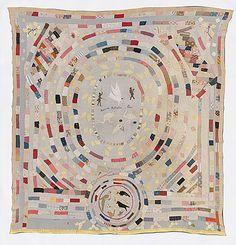 Mary Jane HANNAFORD, Advance Australia Fair, quilt. 1920-21