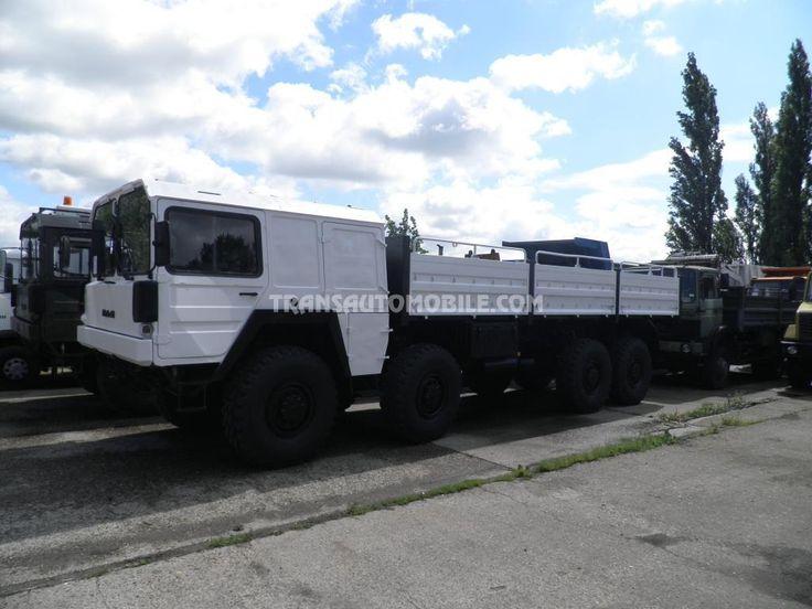Trucks Flatbed Man KAT 1 EX ARMY 8x8 https://www.transautomobile.com/en/export-man-kat-ex-army/1190?PI