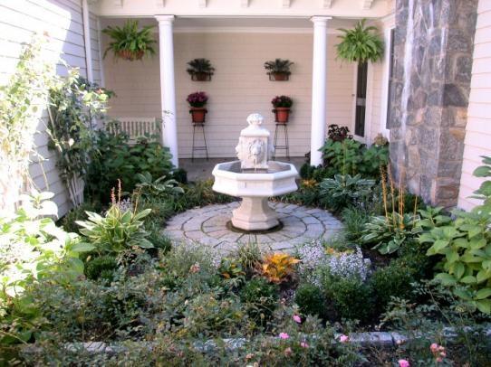 French Country Garden Yard Dreams Pinterest Gardens