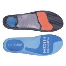 CurrexSole RunPro Insoles - High Arch designed with the jogger, runner, and walker in mind. Great arch support for athletes in need of maximum support with a lightweight feel.