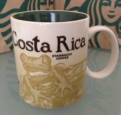 New STARBUCKS COSTA RICA MUG 16 oz Rare!!! Collector Coffee Limited USA SELLER in Collectibles,Advertising,Merchandise & Memorabilia   eBay