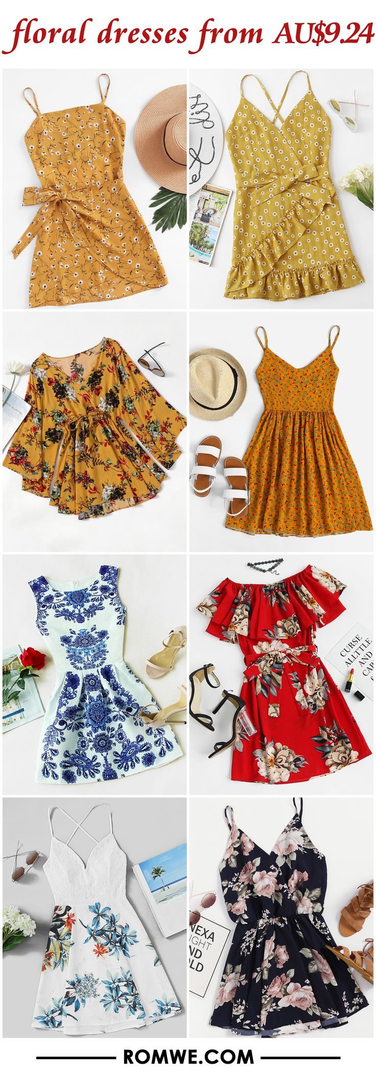 floral dresses from AU$9.24
