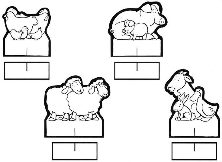 Material educativo para maestros: Nacimientos para colorear y armar