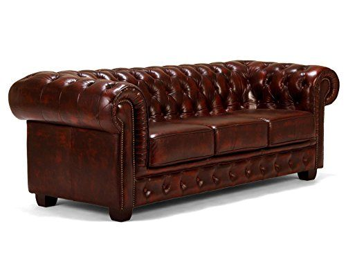 Massivum-10000058-Sofa-Chesterfield-3-Sitzer-antik-Echtleder-Leder-rot-95-x-218-x-79-cm