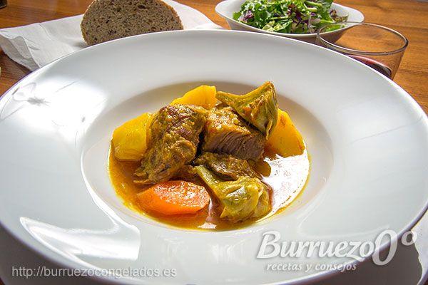 #receta Carrilleras de cerdo guisadas