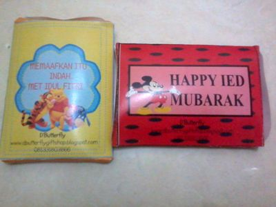 packaging/dos coklat personalized