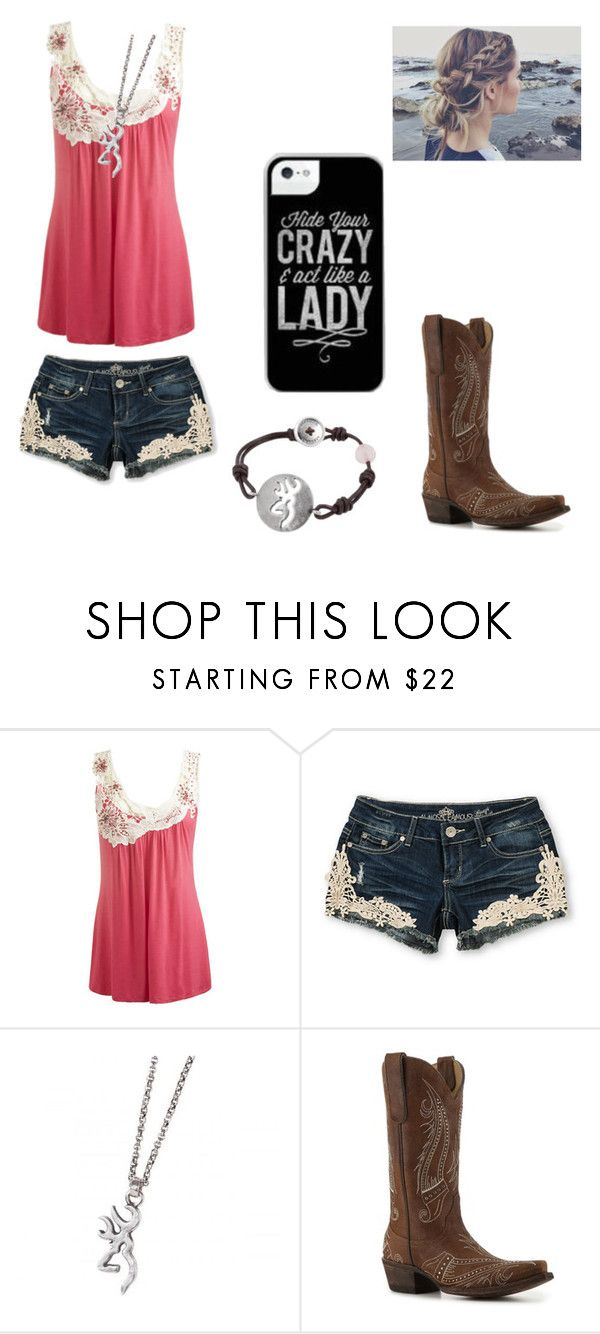 """""""Summer outfit:)"""" by horses4ever1322 ❤ liked on Polyvore featuring Wet Seal, Almost Famous and Old Gringo"""