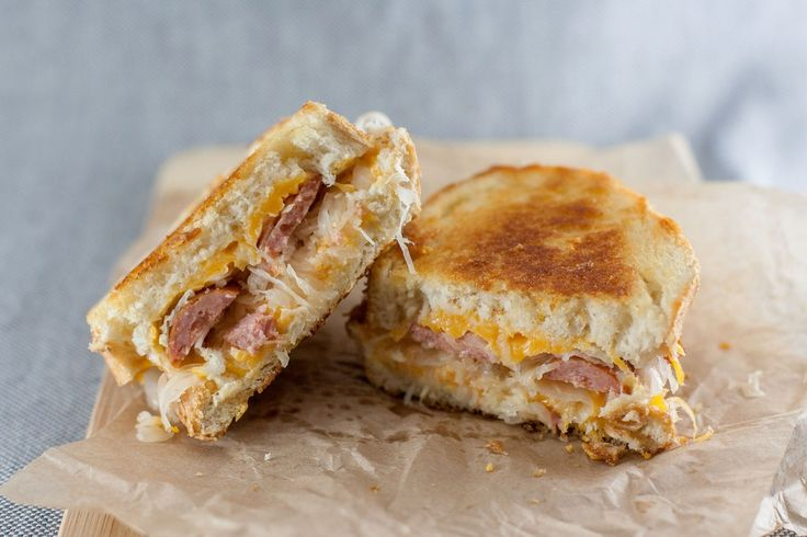 The German Grilled Cheese-would go great with  some spicy banana peppers on the side