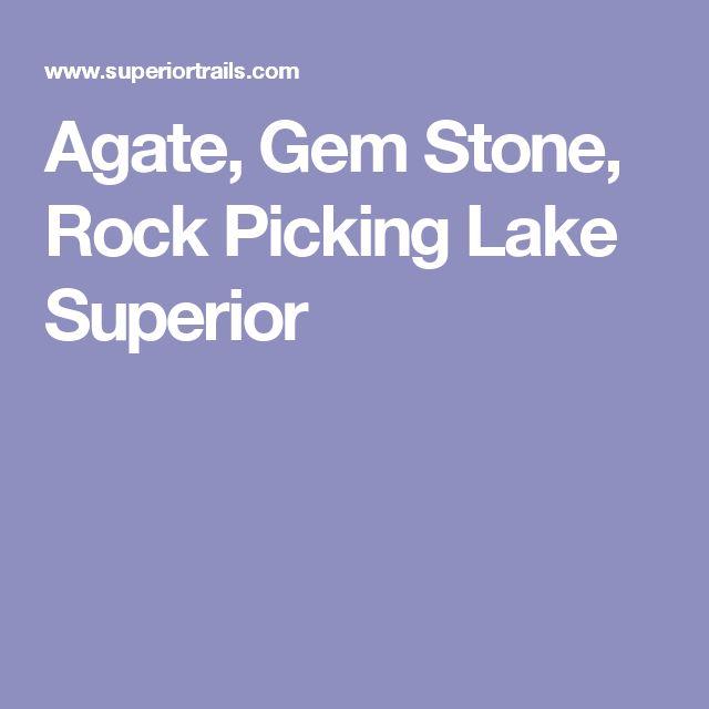 Agate, Gem Stone, Rock Picking Lake Superior