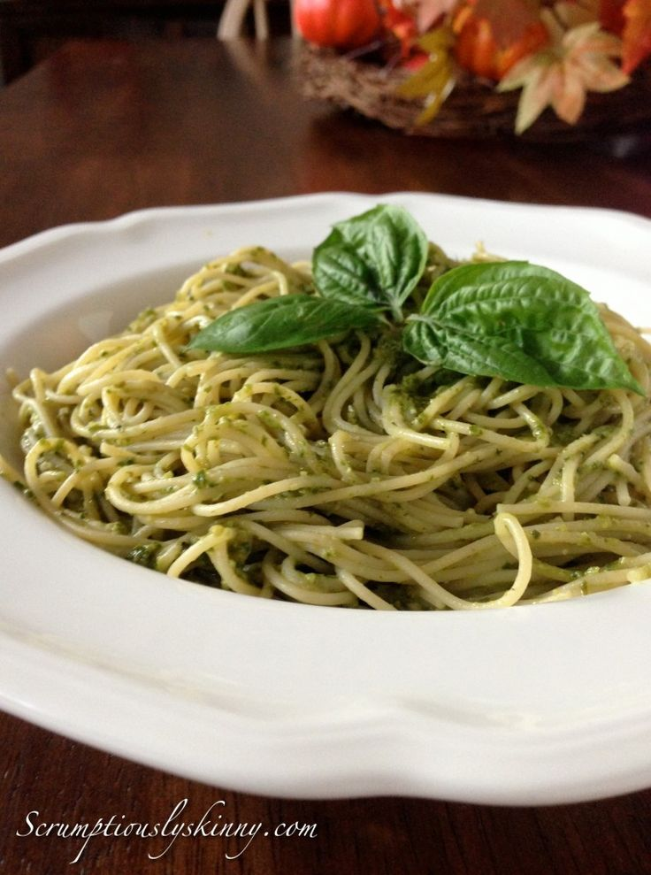 The Light Side of Pesto - Basil Pesto Sauce that can be served on ...