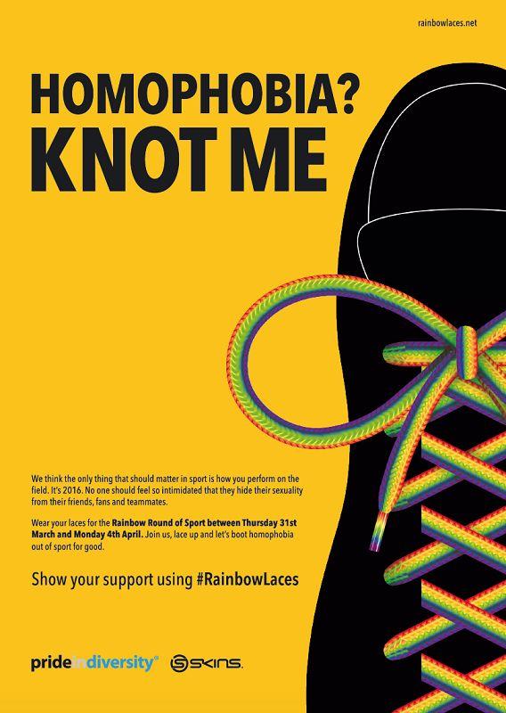 «¿Homofobia? Yo no» es el nombre de un campaña que apoyan deportistas australianos de diferentes disciplinas con el objetivo de luchar contra la homofobia en el deporte.