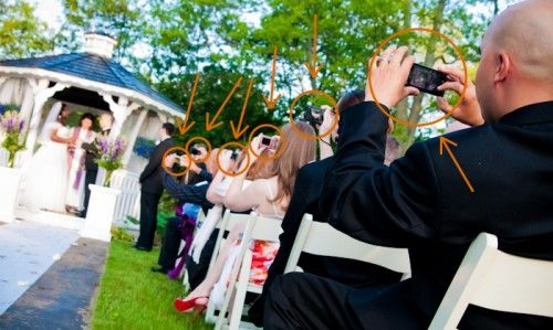 The unplugged wedding: couples tell guests to put down their devices | Offbeat Bride: Wedding Ceremonies, Ideas, Wedding Photography, Unplugged Wedding,  Judges Robe, Offbeat Bride, Academic Gowns,  Academic Robe, Wedding Couples