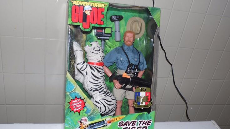 "THE ADVENTURES OF G.I. JOE ""SAVE THE TIGER"" 12"" NEW IN BOX 1998 HASBRO #Hasbro"