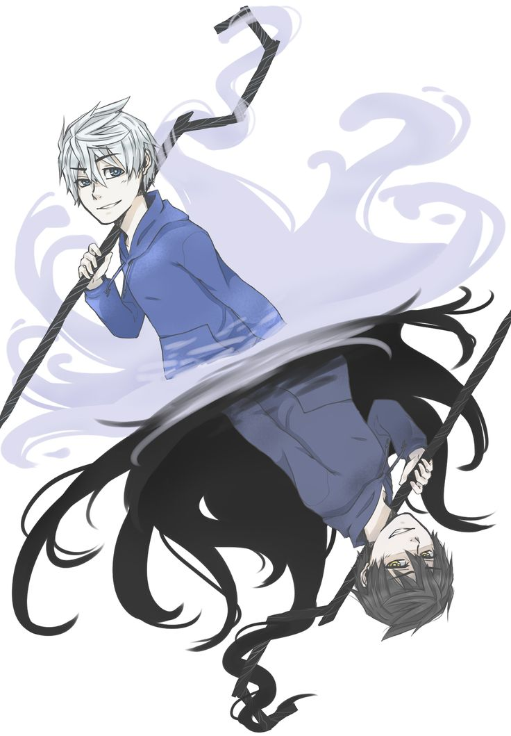 O.K. sweetie if Jack Frost ever turned bad I have a feeling I'd fight you over him....