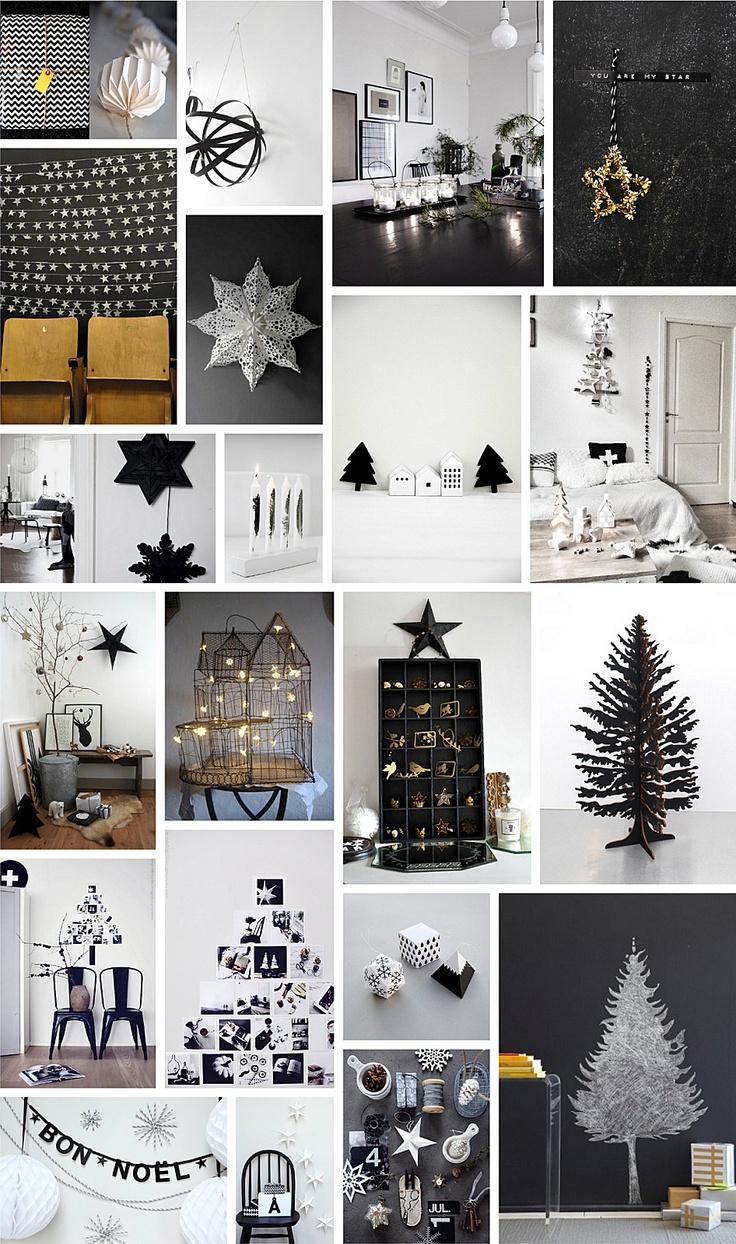 Noël en noir et blanc