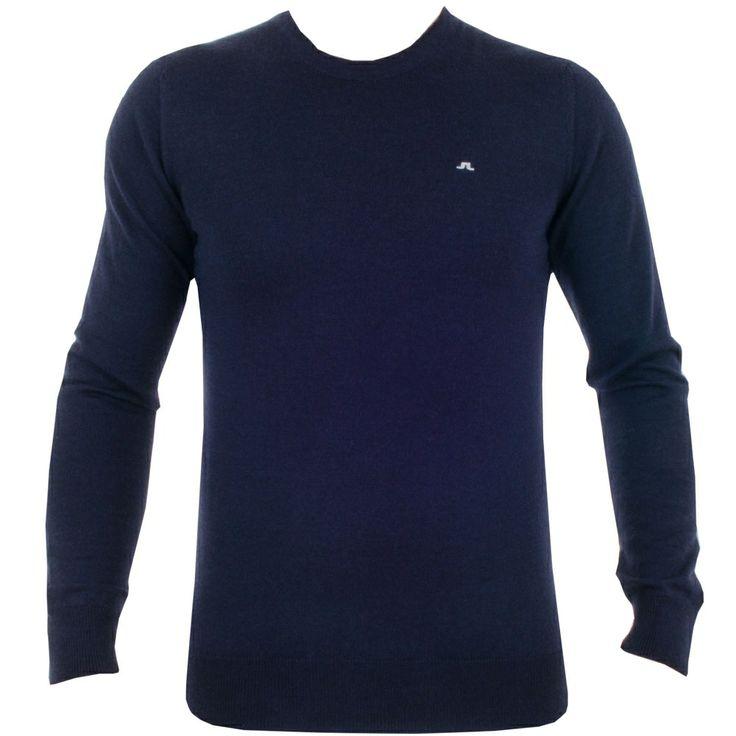 J Lindeberg Luke True Merino Navy Purple #golf #fashion #trendygolf #jlindeberg