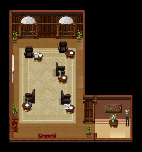 Diogenes Club - Main Room (Interior)