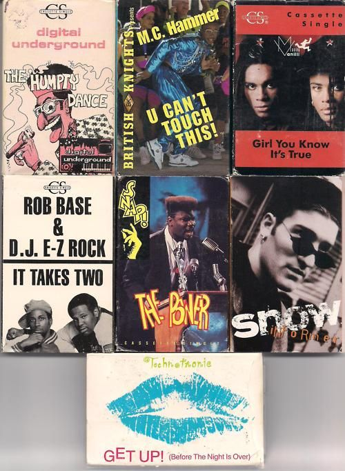 Cassette singles. I'm Remembering!  Pop-Culture Nostalgery From The '80s & Early '90s.