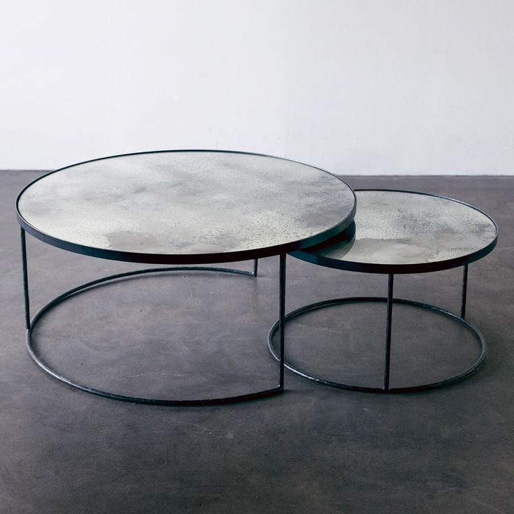 Notre Monde Nesting Coffee Table Set Of 2 | Houseology