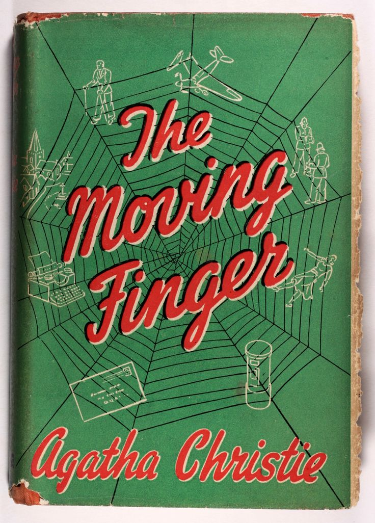 The Moving Finger - Agatha Christie First Edition 1943