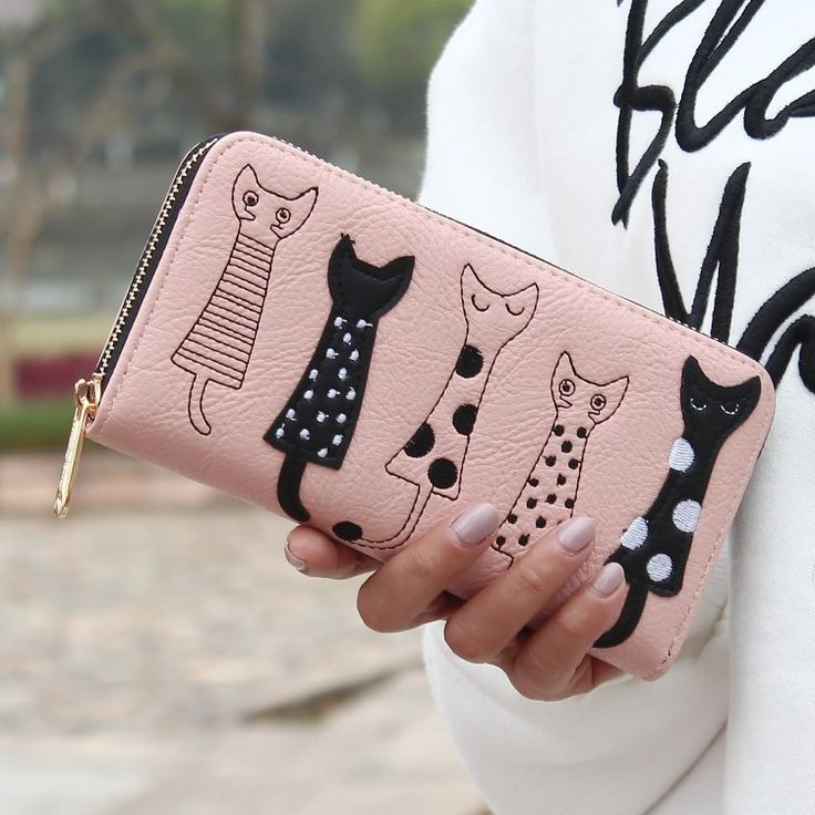 Kitty Clutch Purse / Wallet para Mujeres