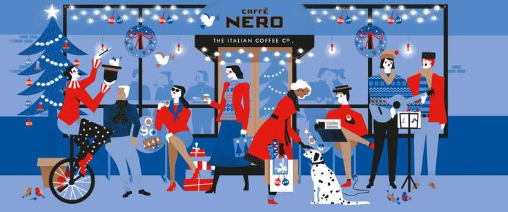 BIG fan of Caffè Nero's christmas print.