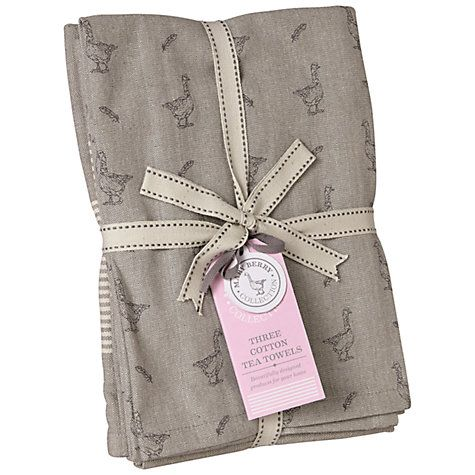 Buy Mary Berry Tea Towels, Set of 3 Online at johnlewis.com