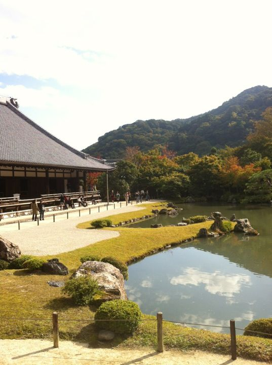 (Tenryu-ji Temple) Praised for good garden. Also offers vegetarian lunch for about $30. Showcases Shojin Ryori, the vegetarian cuisine developed centuries ago by Zen Buddhist monks, consists of vegetables, beans and an array of bean curd variations, including creamy sesame tofu and chewy tofu skins