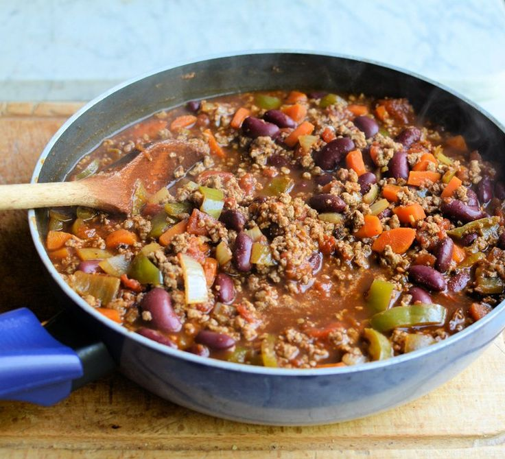 Low Calorie Smoky Chilli with Vegetables and Beans