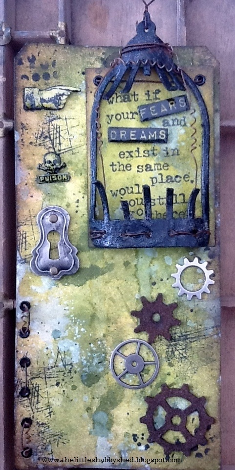 The Little Shabby Shed: fears and dream tag