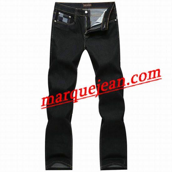 Vendre Jeans Louis Vuitton Homme H0016 Pas Cher En Ligne.
