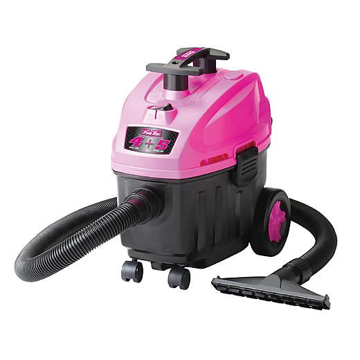 The Original Pink Box PB408SV 4 Gallon Wet Dry Vacuum