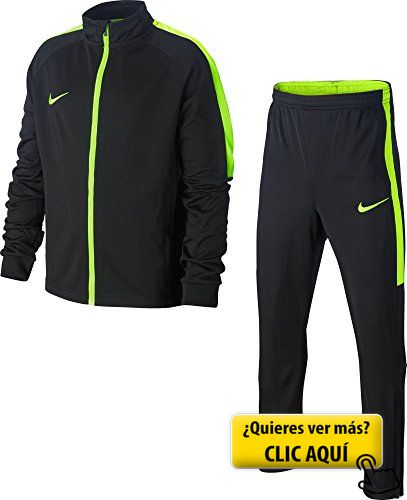 Nike Dry Academy Chándal para niños, Negro... #chandal