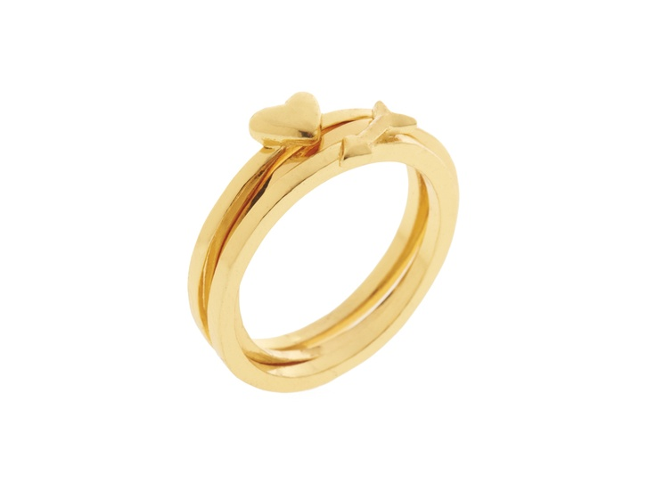Gold X Ring Jewelry