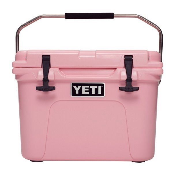 Pink Yeti Cooler Roadie 20 #yeti