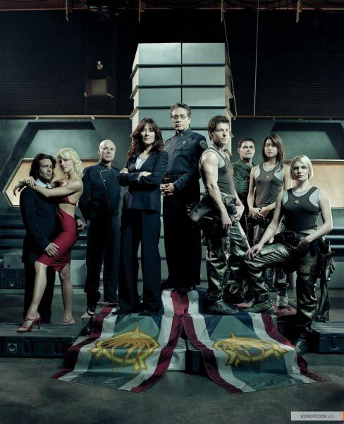Battlestar Galactica 2004  Brilliant, hated to see it end