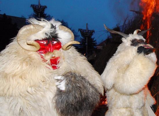 Carnevale dei Busojaras, #Ungheria. Foto © Giulia Scutarino