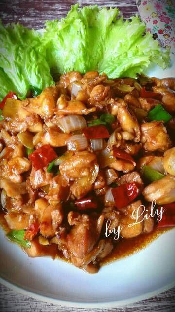 Ayam Kungpao Kungpao Chicken Resep Di 2020 Resep Makan Malam Masakan Vegetarian Dan Resep Makanan Asia