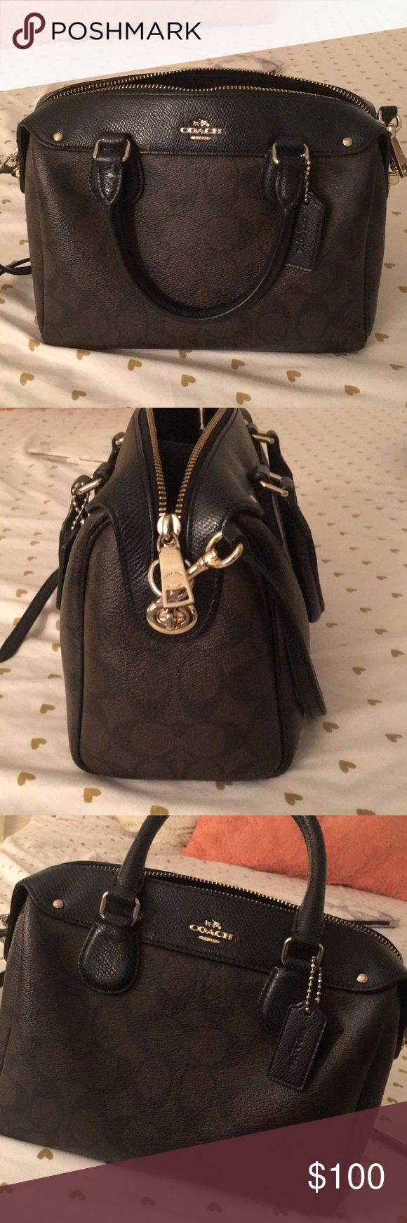 Mini crossover Long strap included perfect condition Coach Bags Mini Bags